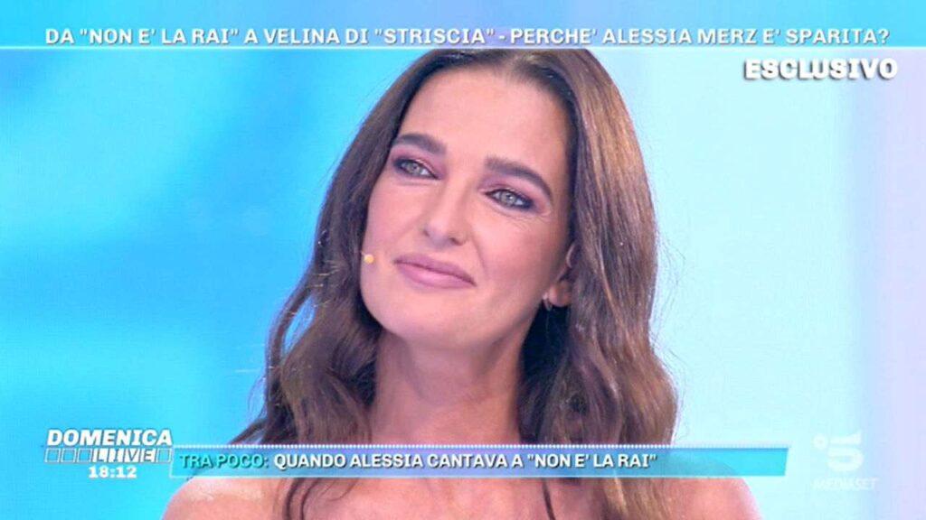 Alessia Merz a Domenica Live